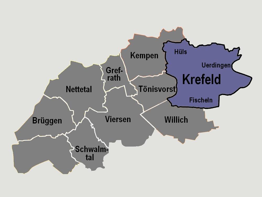 Krefeld Karte.Werberinge Handelsverband Nrw Kr Kk Vie